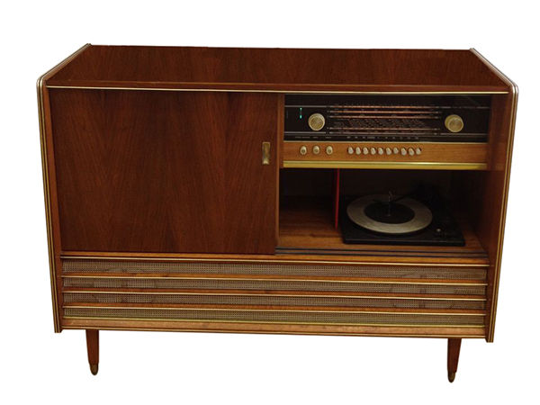 Cheap Old Fashioned Record Player
